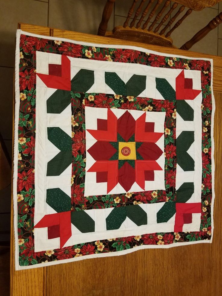 Quilt Pattern from the Nov./Dec. Issue of Country Woman Magazine 1996. I just finished it.