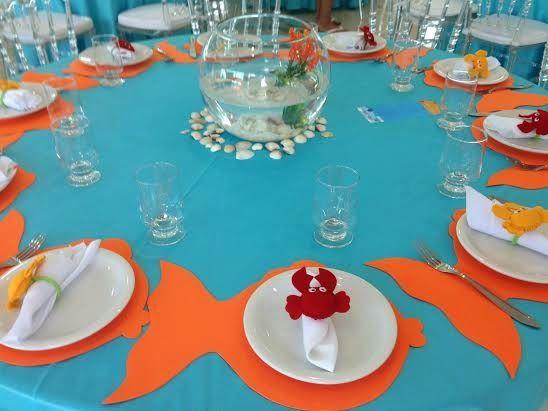 Louca por Festas: Tema:Fundo do Mar