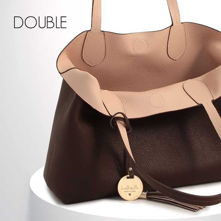 DOUBLE COLLECTION #loristella #bags #leather #natural #double #doubleface #winter #fashion #classy #chic #collection