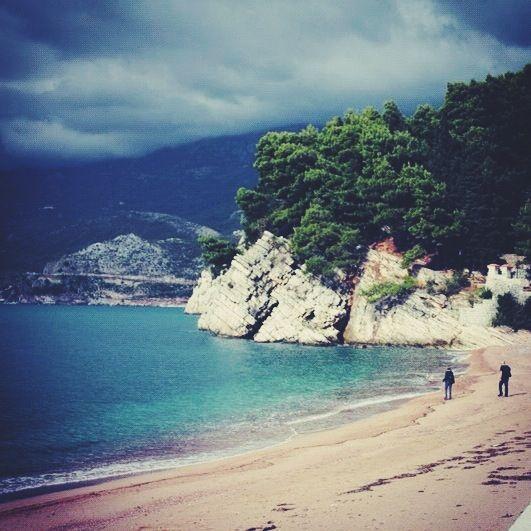 Montenegro in november.