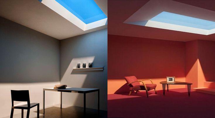 coelux falsa ventana luz natural solar Una falsa ventana que reproduce diferentes tipos de luz natural