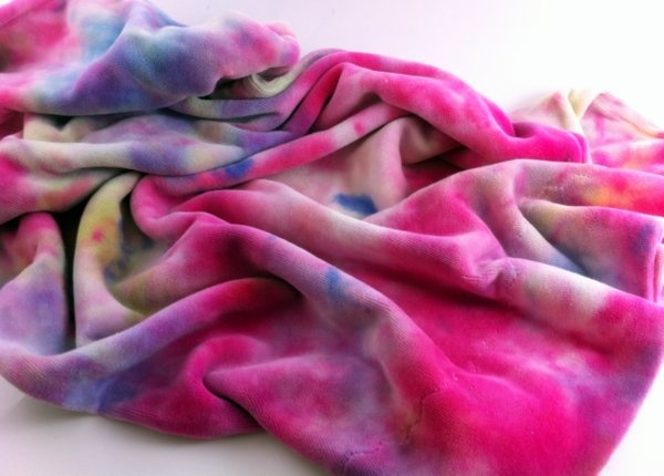 Hand Dyed, Cotton Velour Pillowcase!