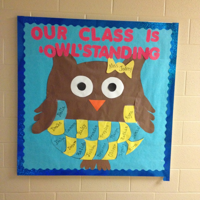 Classroom Bulletin Board Ideas With Owls ~ Best bulletin boards images on pinterest classroom