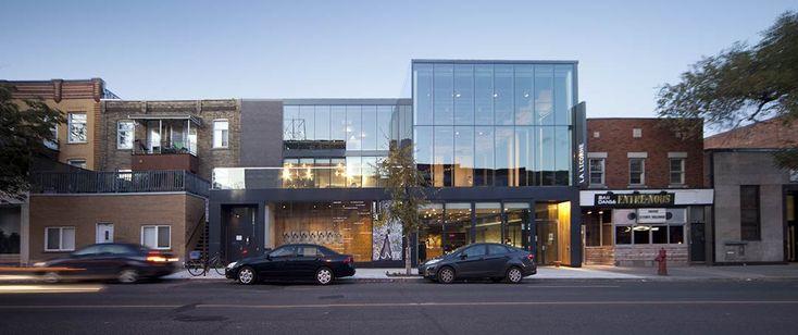 Théâtre la Licorne / Les architectes FABG