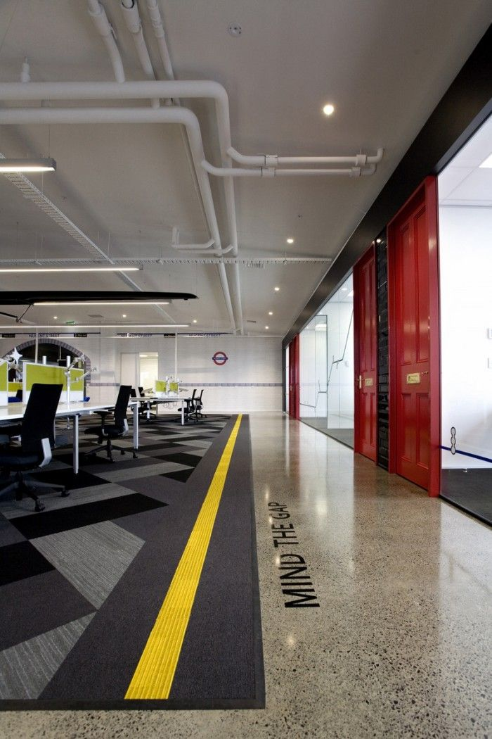 824 best images about office design on pinterest google for Cool office interiors