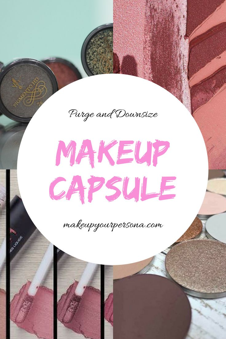 Makeup capsule, purge your makeup, outdated makeup, beauty made easy, multiple use, makeup beginners
