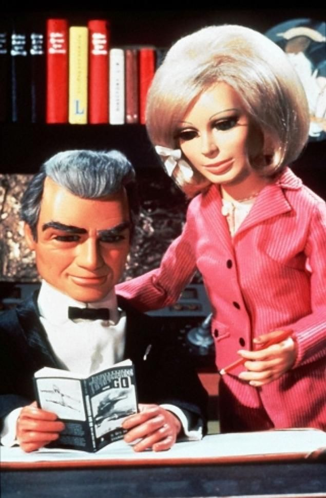 """Oh Jeff...I've been meaning to ask you...what the heck does F.A.B. stand for?""  ""Darned if I know, Lady Penelope....!"""