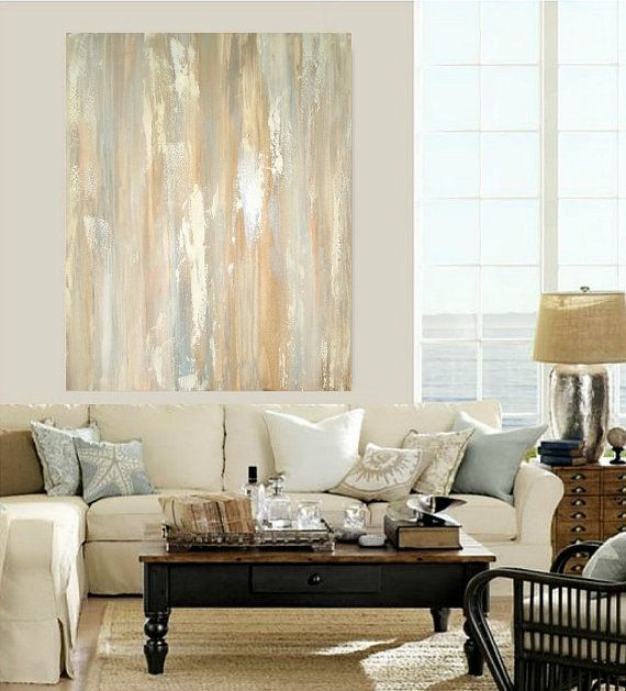 Huge Abstract Painting Original Fine Art on by OraBirenbaumArt, $725.00