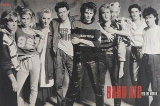 Band-Aid.... FEED THE WORLD! Still love love love this song