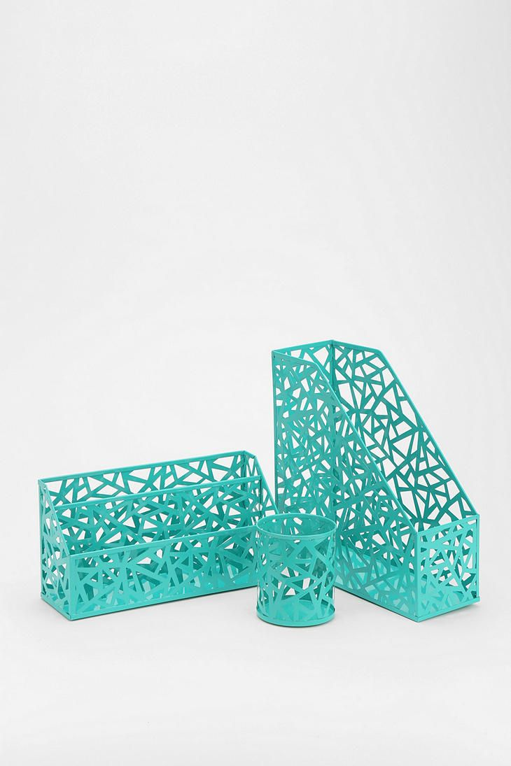 Turquoise Desk Accessories Aqua Poppin Office Desktop Collection Everything Turquoise