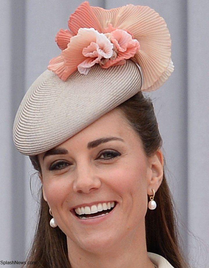 Fleur Ruffle Beret by Jane Taylor Millinery, Annoushka pearls with Kiki McDonough hoops