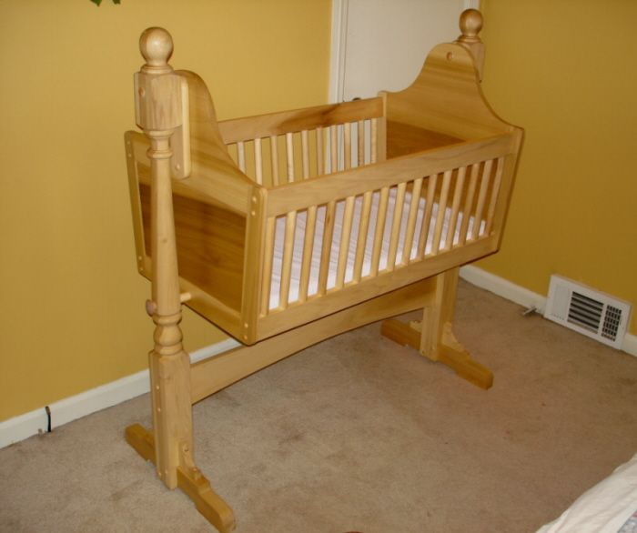 Baby Cradle Plans Wooden Cradle Plans Rock A Bye Baby