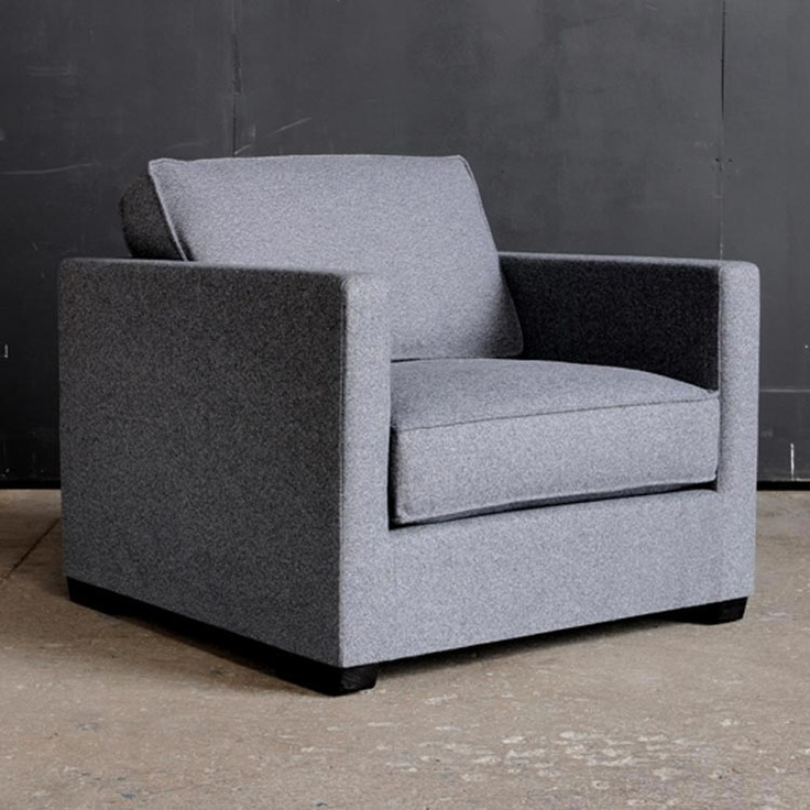 Gus*   Richmond Chair At 2Modern   Upholstery Is Cashmere, Frame Is FSC  Certified. Green FurnitureModern FurnitureClub ...