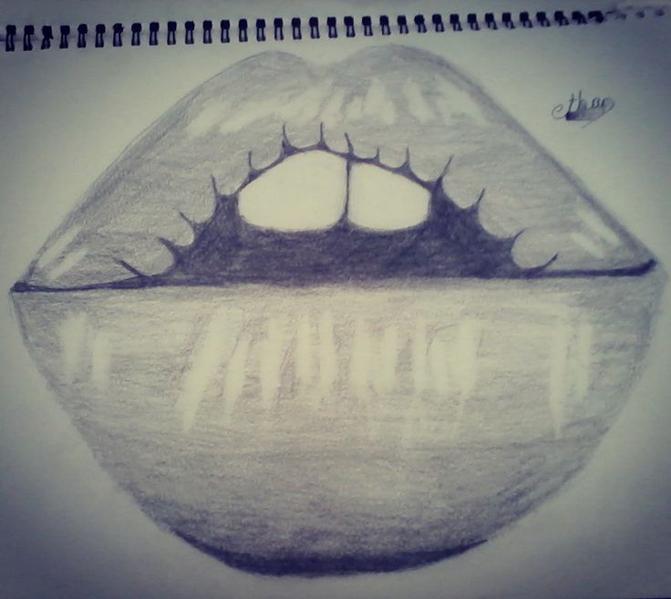 Lips #my drawing