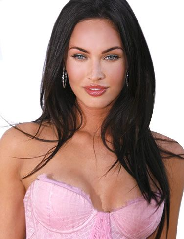 Megan Fox, a bit cray cray, but hot !.