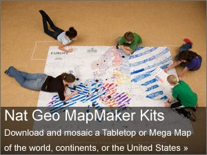 Nat Geo Education: customizable, printable maps- AMAZING! There is a way to print huge maps- printed over several sheets of paper and then taped together to make maps as big as a wall.