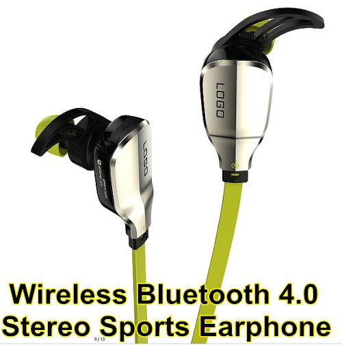 Original Design Bluetooth 4.0 Headset Wireless Stereo Sports Earphone Studio Music Hands for iPhone for Samsung for Sony for HTC