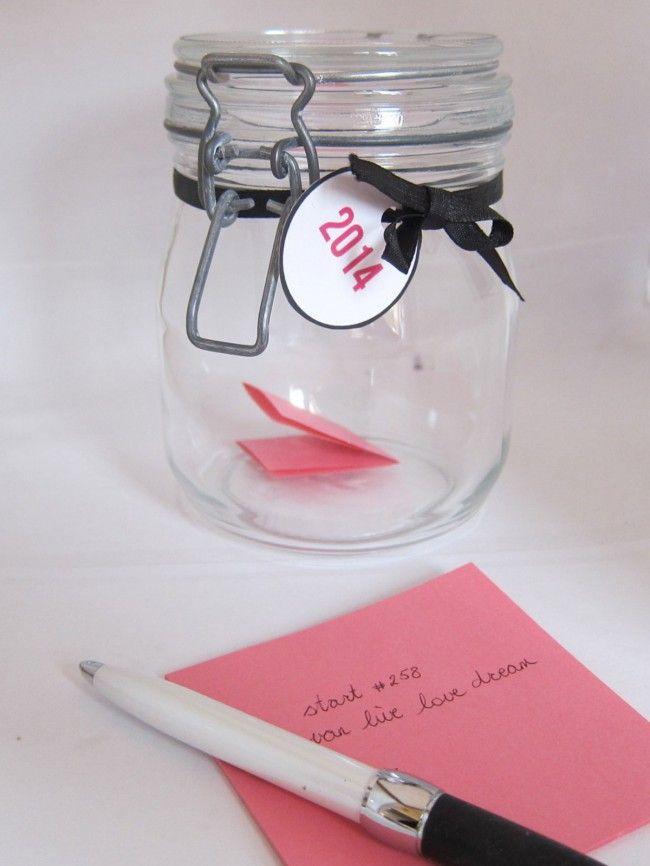 Memorie jar / Herinneringenpot