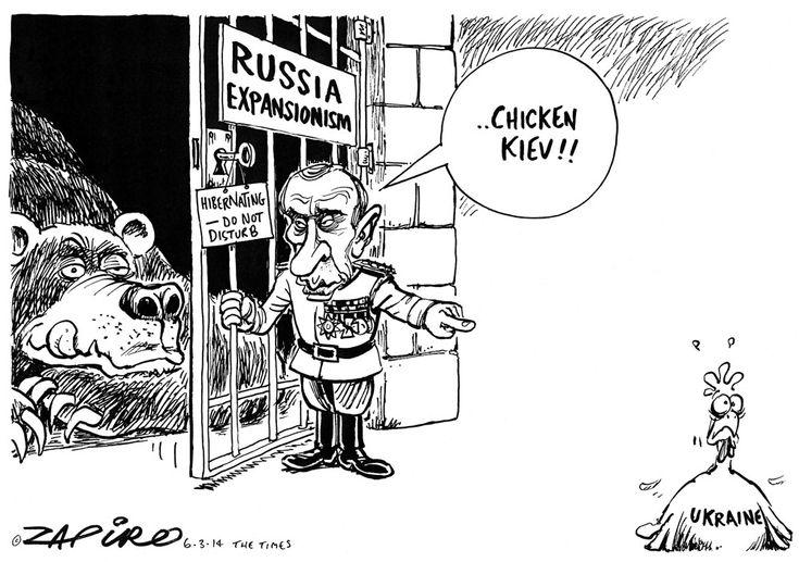 Zapiro: Russia's Putin in Ukraine - Mail Guardian