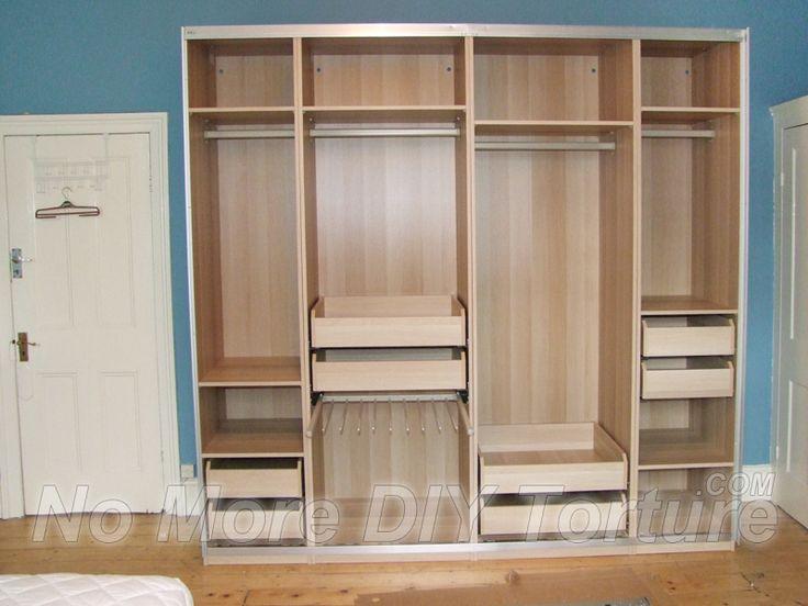 25 best ideas about wardrobe interior design on pinterest. Black Bedroom Furniture Sets. Home Design Ideas