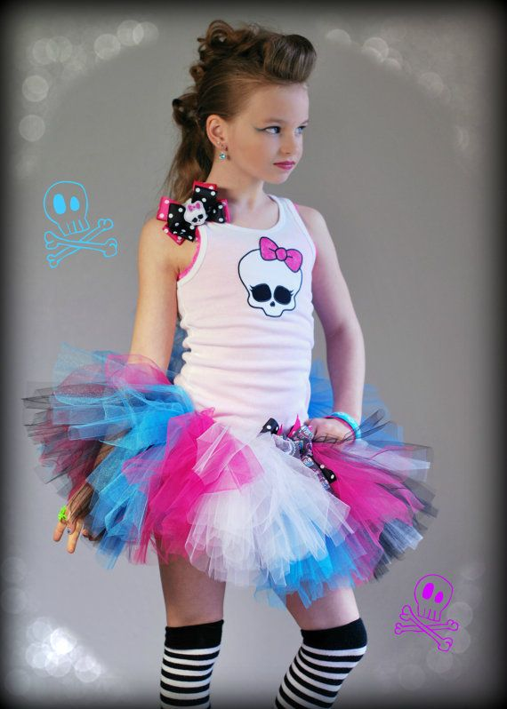 Hey, I found this really awesome Etsy listing at http://www.etsy.com/listing/127540384/punk-rock-tutu-set