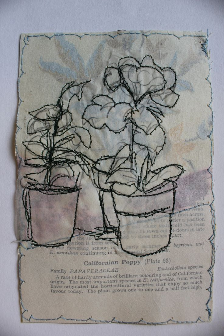 Secret Garden Californian Poppies SOLD casholmestextiles