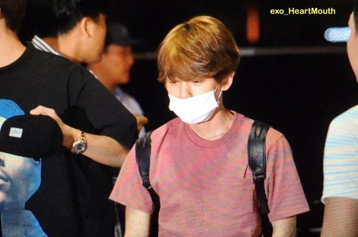 Baekhyun Goes to Hawai with SM  #EXO