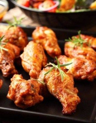 Baked Buffalo Wings #best recipe to try