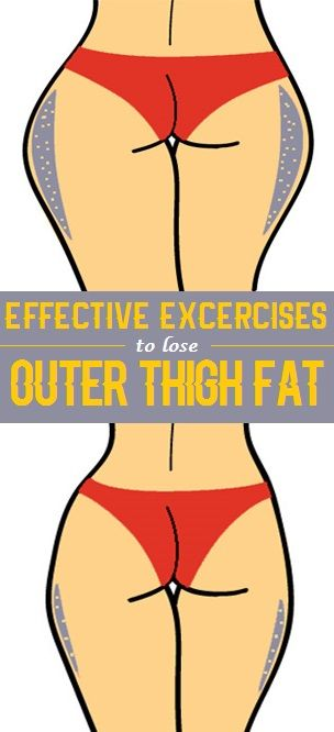 how to lose outer thigh fat