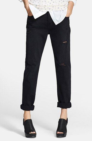every closet needs boyfriend jeans | @nordstrom #nordstrom