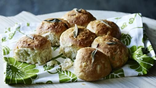 Tear and share these delicious sage and onion bread rolls - a perfect accompaniment to a warming soup.
