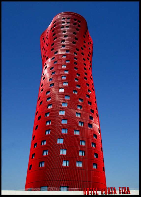 Hotel Porta Fira in Barcelona, Spain.           Photograph by Juan Ferragut