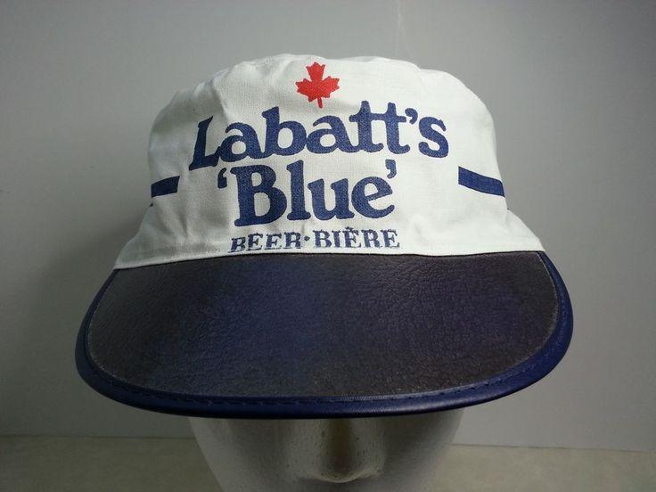 MICKEY Malt Liquor Vintage 80's 90's Beer Hat Cap New Old Stock Pxo6U