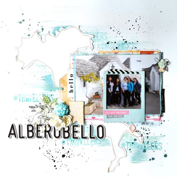 Alberobello layout