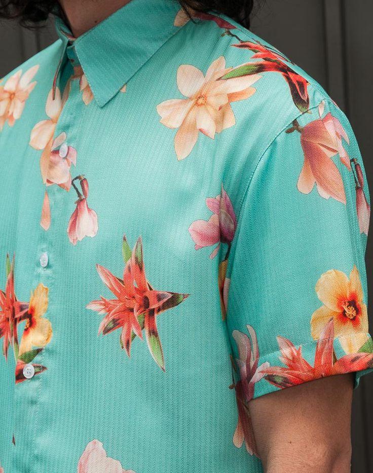 Camisa Estampada Crystal. TricTric Camisas Masculinas: Um Mar de Estampas Em Edições Limitadas!