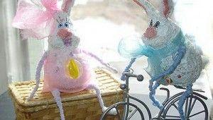 Поделки на 8 марта. Мартовские зайцы