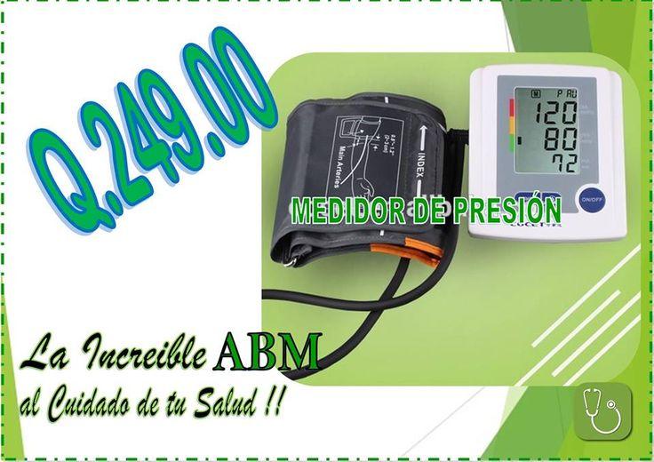 Medidor de presión arterial.