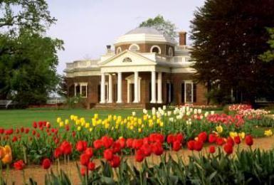 Monticello - The Historic Home of Thomas Jefferson: Monticello - Home of Thomas Jefferson in Charlottesville VA