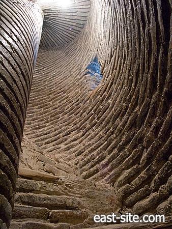 Minaret of Ulug-Bek Madrasah, Samarkand, Uzbekistan