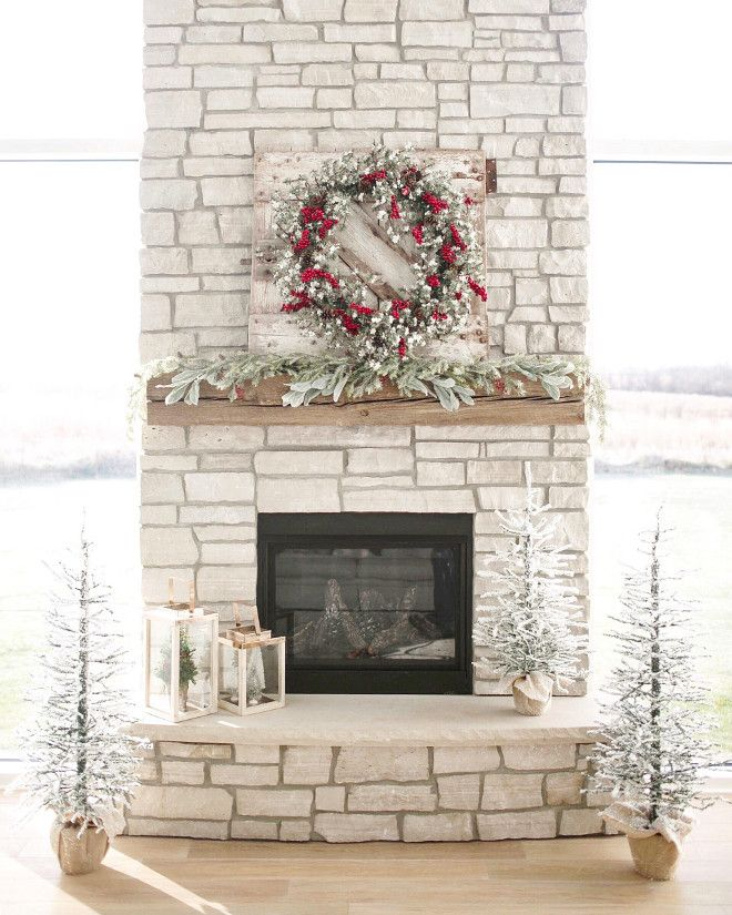 Best 20 Christmas fireplace decorations ideas on Pinterest