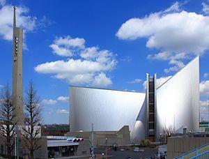 東京カテドラル聖マリア大聖堂、丹下健三