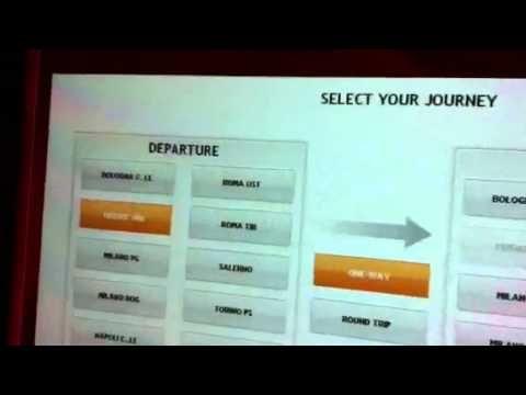 人気!イタロITALOに乗るためのチケットの買い方教えます!Italy Train - YouTube