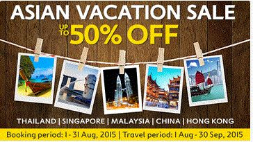Time for another asian vacation with your loved one..!!