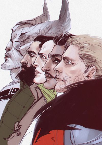 Dragon Age Inquisition. Cullen, Dorian, Solas, Blackwall, Iron Bull. They forgot Cole!