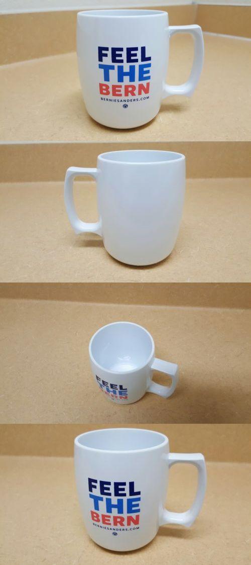 Bernie Sanders: Bernie Sanders Feel The Bern Campaign Shatterproof Plastic Mug -> BUY IT NOW ONLY: $25 on eBay!