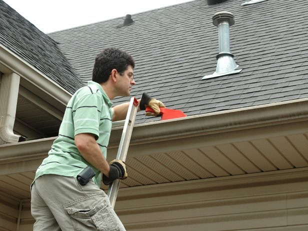 De Junk The Gutters Cleaning Tips For Your Home S Exterior And Yard On Hgtv Gutters Cleaning Gutters How To Install Gutters