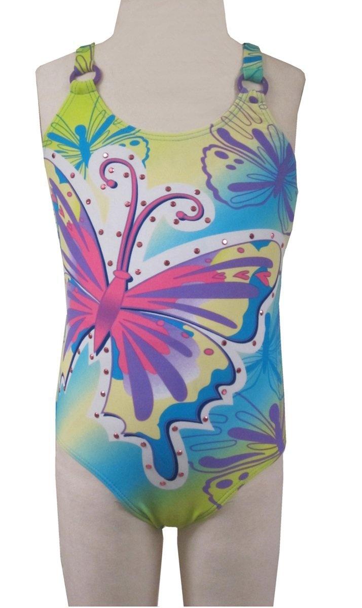Lisabelle Swimwear Sabrina 1-Piece : 4 to 6X & 7/16 girls sizes