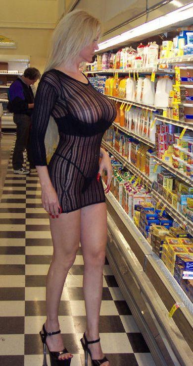 В магазине продуктовом секс в видео статья
