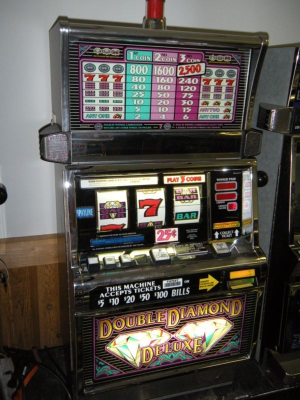 double diamond deluxe slot machine strategy playing