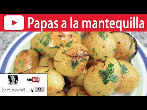 PAPAS A LA MANTEQUILLA | Vicky Receta Fácil - YouTube